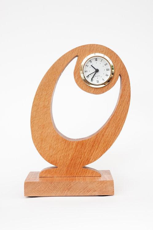 Beechwood 'Table' Clock