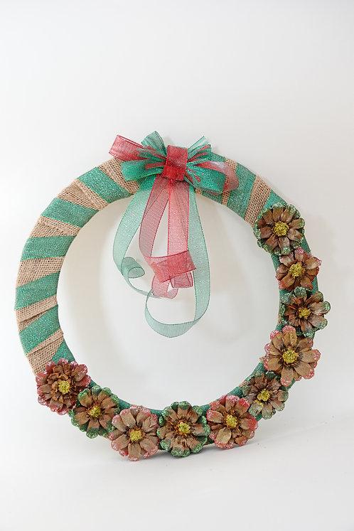 'Christmas themed Wreath'