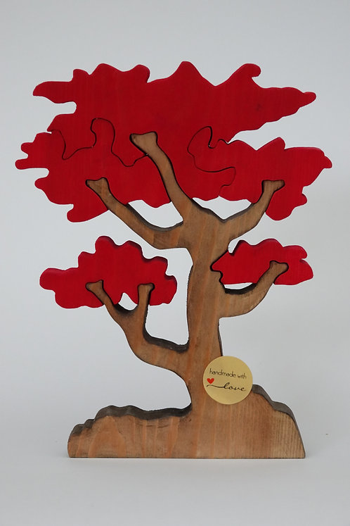 ' Red Leafed Tree' Puzzle