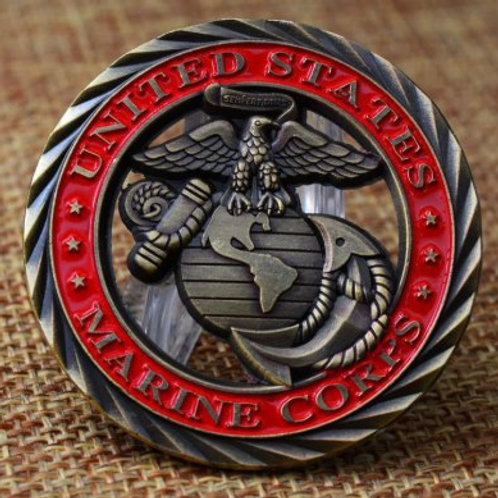 Core Values Challenge Coin