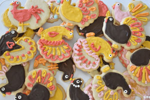 Annual Turkey Sugar Cookies