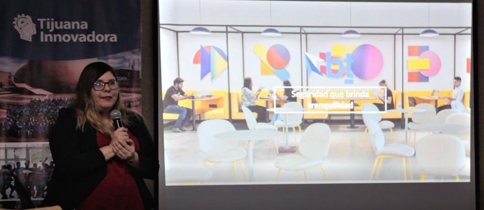 Presentacion de Brier & Thorn en el Agora de Tijuana Innovadora