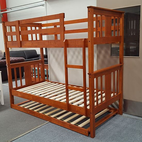 Molly Single Up/Down Bunk Bed With Trundle