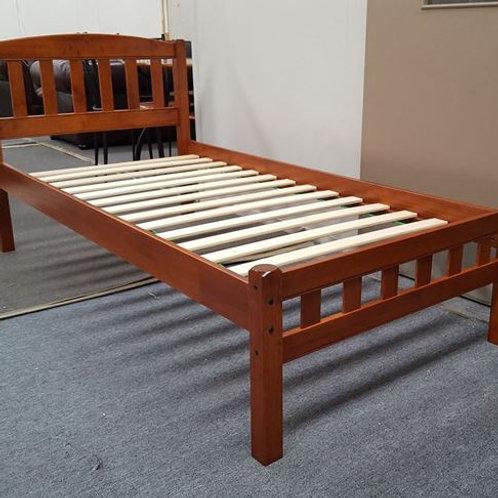 Solid Hardwood Antique Oak Single Bed