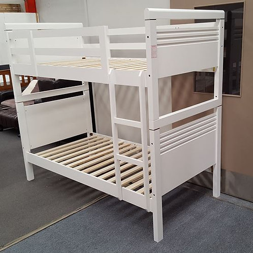 Elise White Single Up/Down Bunk Bed