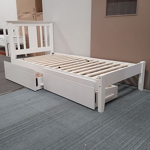 Glory Single Bed with Drawers