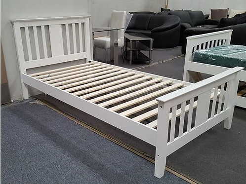 Molly Single Bed White