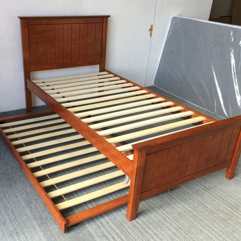 Elite single bed with Trundler