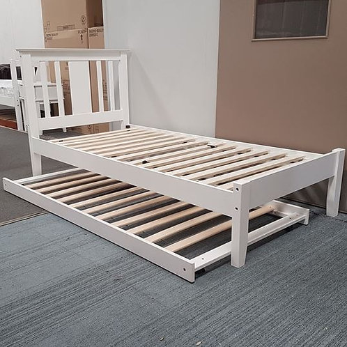 Glory Single Bed with Trundle