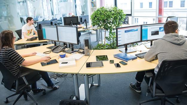 agile testing teams at work