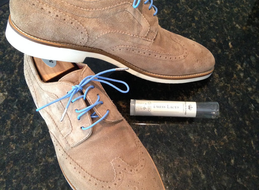 Accessorized Hugo Boss Suedes