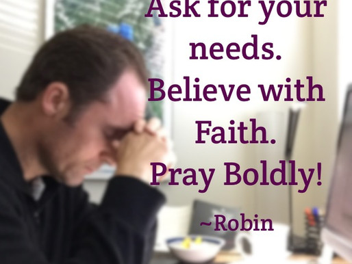 Ask For What You Need. Pray Big. Live Epic.