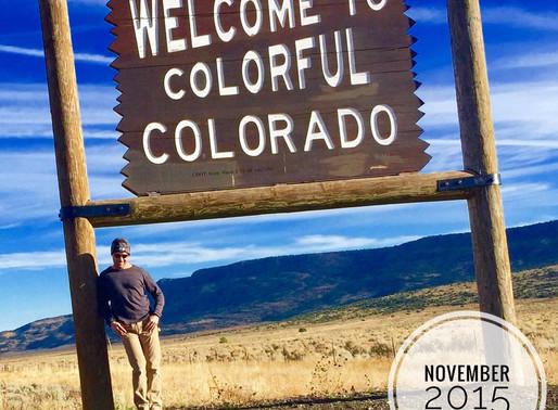 The Colorado border with New Mexico, Mexico