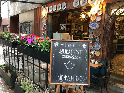 Review: Budapest Cafe in Condesa Mexico City