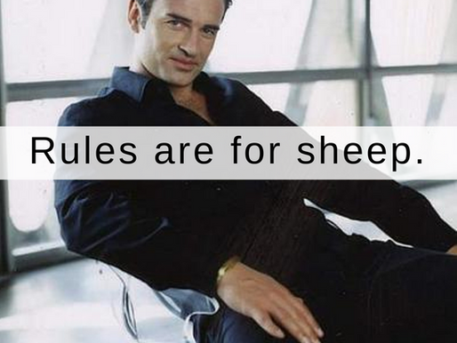 Rules are for sheep