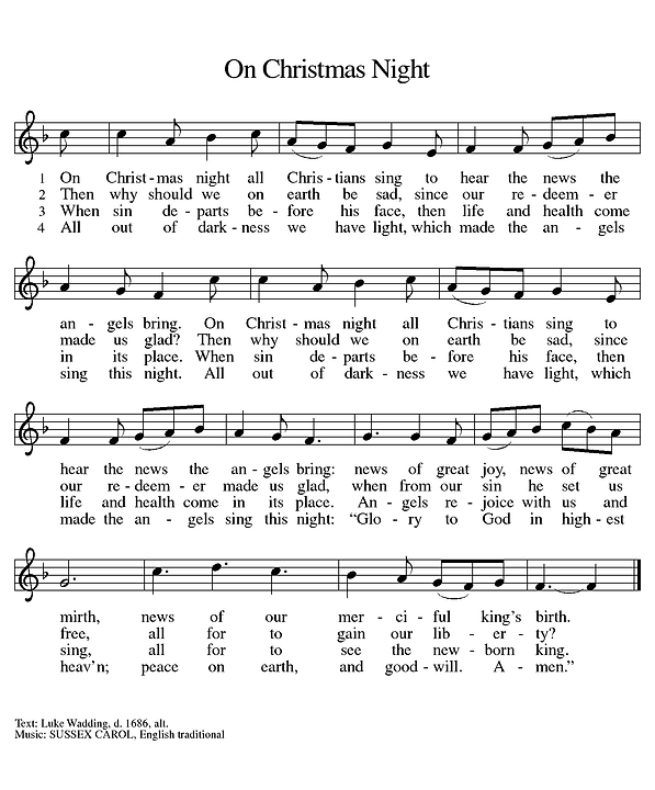 On Christmas Night (Melody).tif