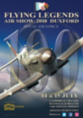 2018 Flying Legends Poster