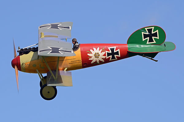 Albatros D.Va ZK-TGY at Stow Maries, UK. Photo credit: Phil Whalley