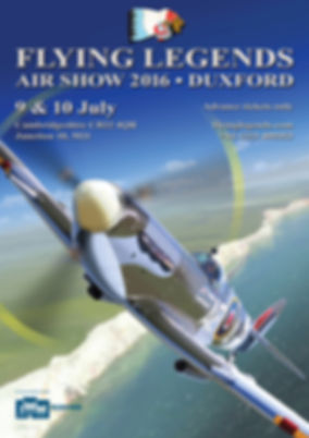 2016 Flying Legends Poster