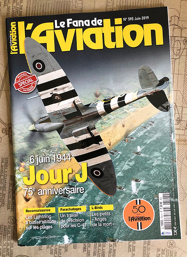 Le Fana de l'Aviation magazine cover