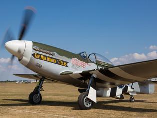 North American P-51D 'The Hun Hunter \ Texas'