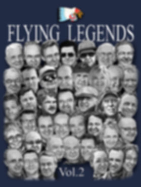 Flying Legends book cover Vol.2