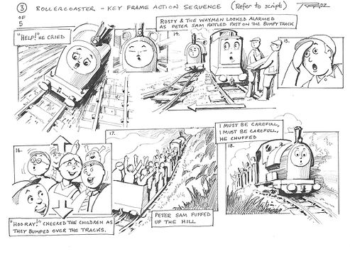 Storyboard - Rollercoaster 03