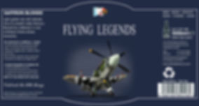 Flying Legends Beer Label