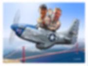 Rob Gordon, Darryl Bond in P-51D 'Lady Jo'