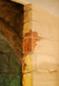 Wine Cellar Trompe-L'oeil detail
