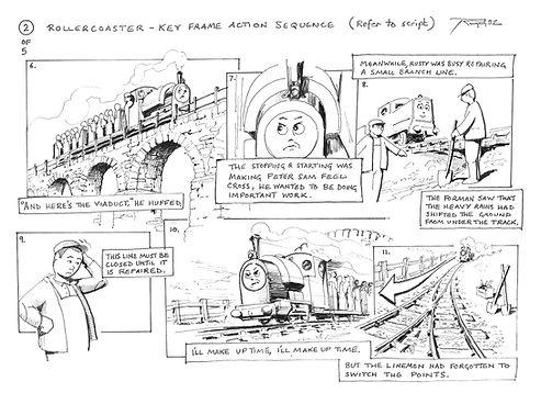 Storyboard - Rollercoaster 02