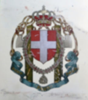 Lesser coat of arms of the Kingdom of Italy (1929-1943) Before repair