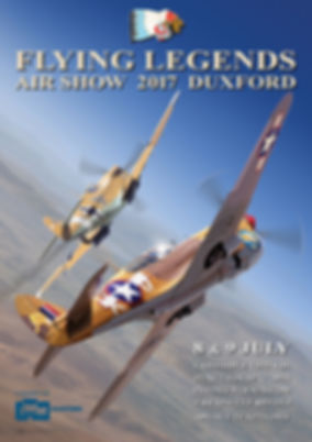 2017 Flying Legends Poster