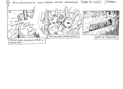 Storyboard - Rollercoaster 05
