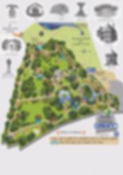 Shuttleworth Swiss-Garden Map