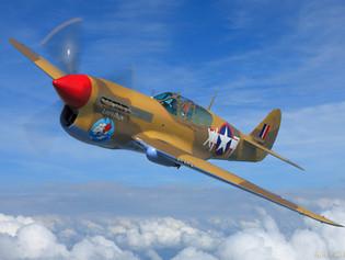 Curtiss Warhawk P-40F