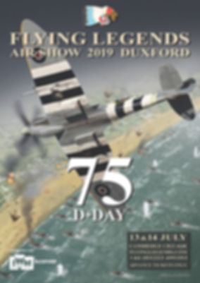 2019 Flying Legends Poster