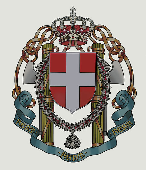 Lesser coat of arms of the Kingdom of Italy (1929-1943) After repair