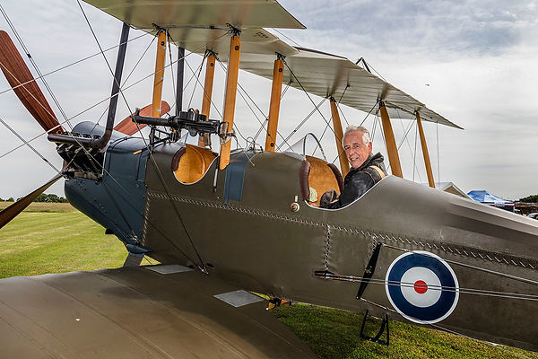 BE2c at Stow Maries, UK.