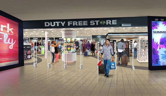 Airport Duty Free Consept