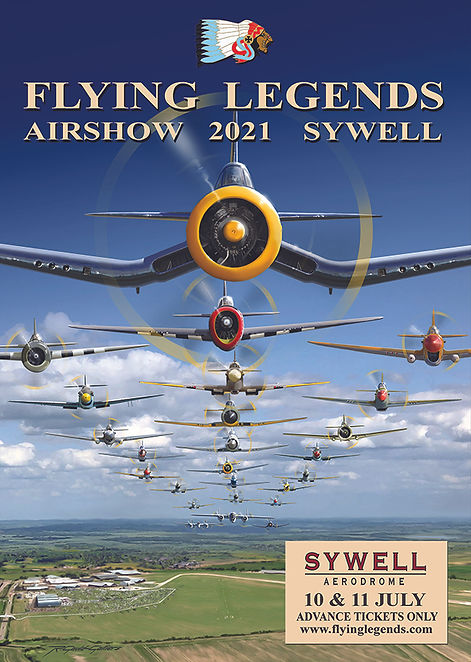 Flying Legends 2021 Poster