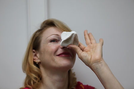 3-D моделирование носа на консультации по ринопластике пластического хирурга Константина Клименко