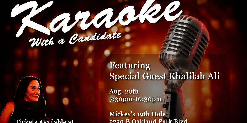 Karaoke With a Candidate