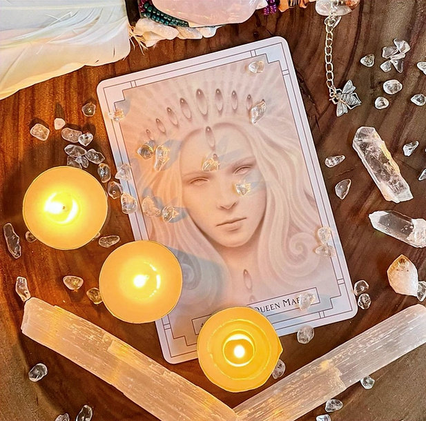 Sage Feather Learn to Read Oracle Cards