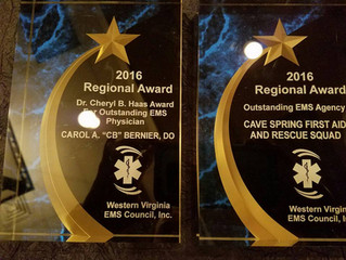 CSRS: 2016 Outstanding EMS Agency Award