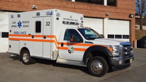 Cave Spring Rescue Squad Puts New Ambulance Into Service