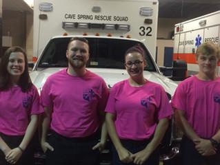 Raising Breast Cancer Awareness: Pink Uniform Shirts