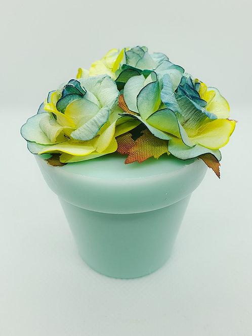 Blue Plant Pot Soap