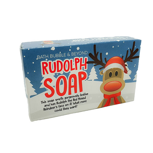 Rudolph Soap Bar