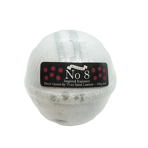 Inspired by Black Opium, Yves Saint Laurent Bath Bomb